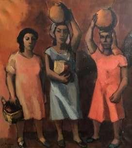 pintura del maestro Jorge Elías Triana