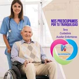Servicios de enfermería adomicilio SaludPremium
