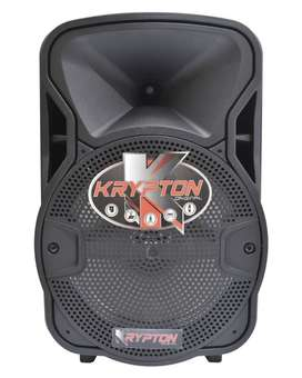 parlante amplificado portatil krypton