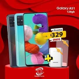 Samsung A51 128gb 4Gb Nuevo Garantia Verde Negro Blanco