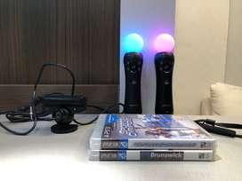 Controles PS3 Move