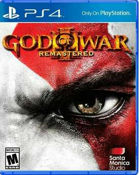 God Of War 3 Rematered Ps4 Fisico Nuevo