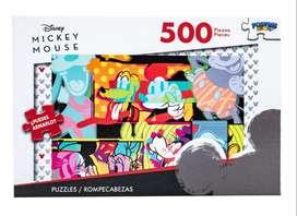 Rompecabezas/ Puzle Disney Mickey Mouse De 500 Piezas Quito