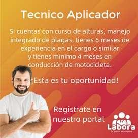 Tecnico Aplicador
