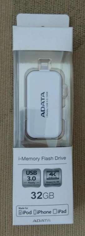 Memoria Expandible 32 GB para iPhone Adata Ue710 Nueva