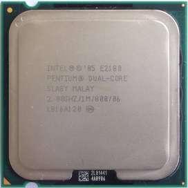 Procesador Intel Pentium Dual Core E2180 2,0 GHZ, en perfecto estado
