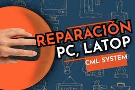 MANTENIMIENTOS, REPARACIÓNES DE CPU, LATOP, BOARD.