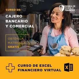 CURSO CAJERO BANCARIO Y COMERCIAL