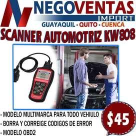 SCANNER AUTOMOTRIZ KW808