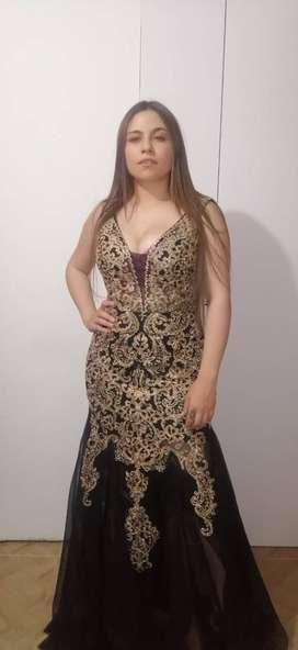 vestido de gala , traje de fantasía, vestido de noche