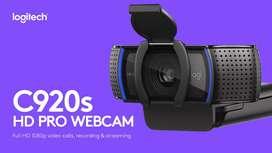 webcam c920s hd pro de logitech