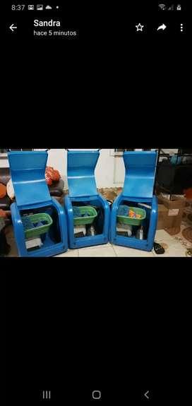 Vendo maquinas de lavado ecologico de autos.