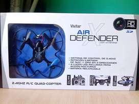 Drone Air X Defender con cámara Vivitar