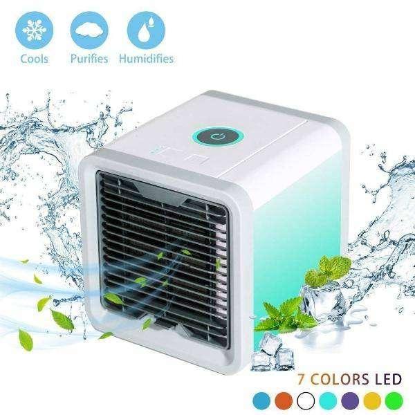 Aire Acondicionado LUZ LED Portatil  Ventilador 0