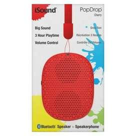 Parlantes Bluetooth- Isound Popdrop, exelente para la playa