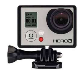 Carcasa Frame for Gopro Hero 3+/3/4 Black