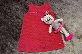 Vestido para bebe minimimo.