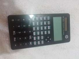 Calculadora HP 300s + Scientific Calculator con funciones trigonometricas