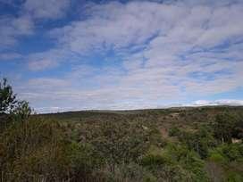 Valle Hermoso 600 m2 salida al rio 100 % financiado