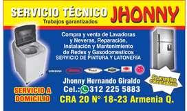 Servicio técnico de neveras y lavadoras a domicilio