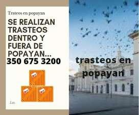 Mudanzas y Trasteos en Popayan