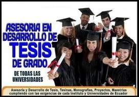 REALIZAMOS ASESORÍA EN RÚBRICA Y PLANTILLA DE DESARROLLO DE PROYECTO TESIS