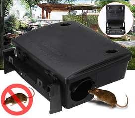 Estaciones de cebado para roedores instaladas en todas las areas Bogota Control efectivo ratas ratones