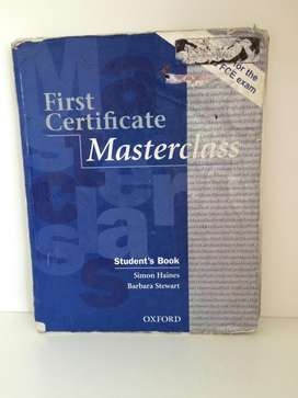 Libro First Certificate Masterclass Students book