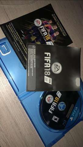 FIFA 18 para play 4