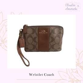 Wristlet Coach original y nuevo