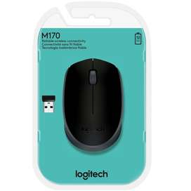 Mouse inalámbrico Logitech M170 negro