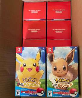 Combo Pokémon: Let's Go, Pikachu! and Let's Go, Eevee!