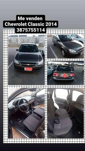Vendo Chevrolet classic. 2014.