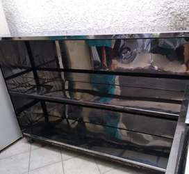 Estanteria de aluminio