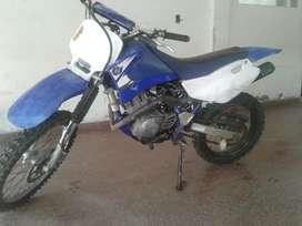 Yamaha TTR 125 vendo, tomo permuta