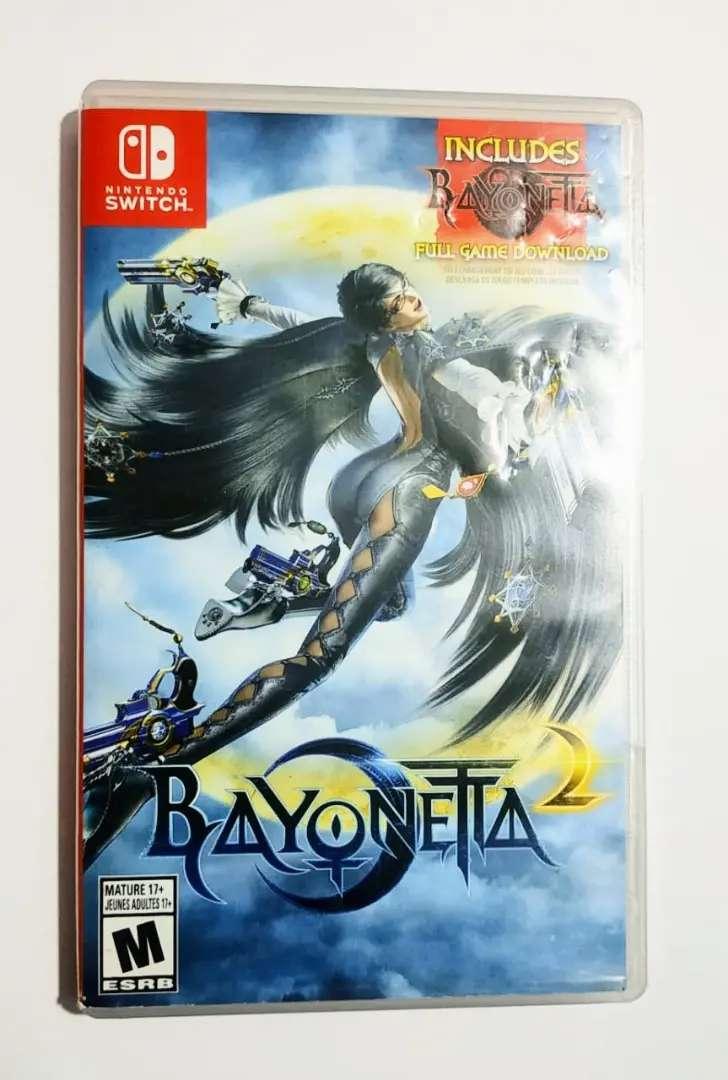 Bayonetta 2 juego físico Nintendo switch 0