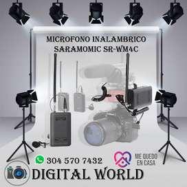 microfono Inalambrico Saramonic SR-MW4C