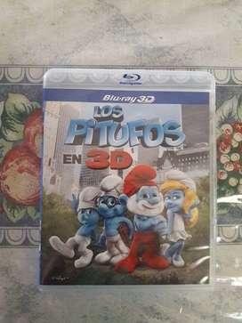 Los Pitufos 3D Blu-ray Original