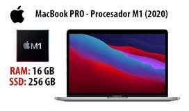 A la venta MacBook Pro 2020 M1