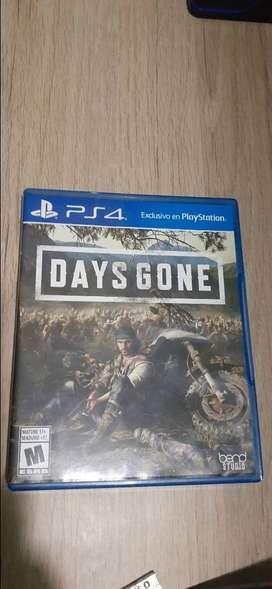 Vendo Days Gone en usado pero en buen estado