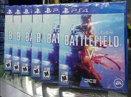 Battlefield V Deluxe Edition Audio Español Latino Ps4 Nuevo Sellado Stock