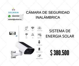 CÁMARA DE SEGURIDAD INALÁMBRICA SOLAR