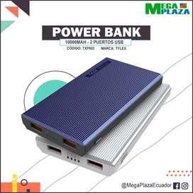 Power Bank cargador portátil 10000 mAh
