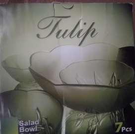 Tulip salad bowl set