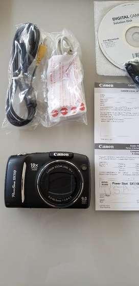 Camara Canon profesional portatil Powershot SX110