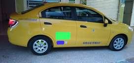 Vendo taxi y cupo negiciable