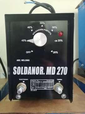 maquina de soldar portatil de 250 amp