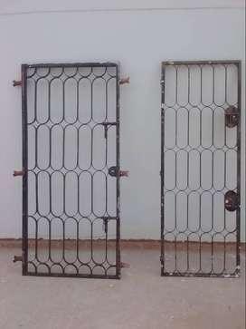 Rejas proctetoras de puertas