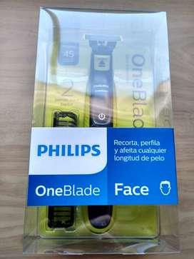 afeitadora philips oneblade face