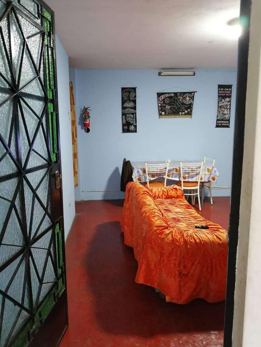 Departamento semi amoblado para matrimonio sin hijos o persona sola, en SJM a 2 minutos  estación de tren San Juan 0